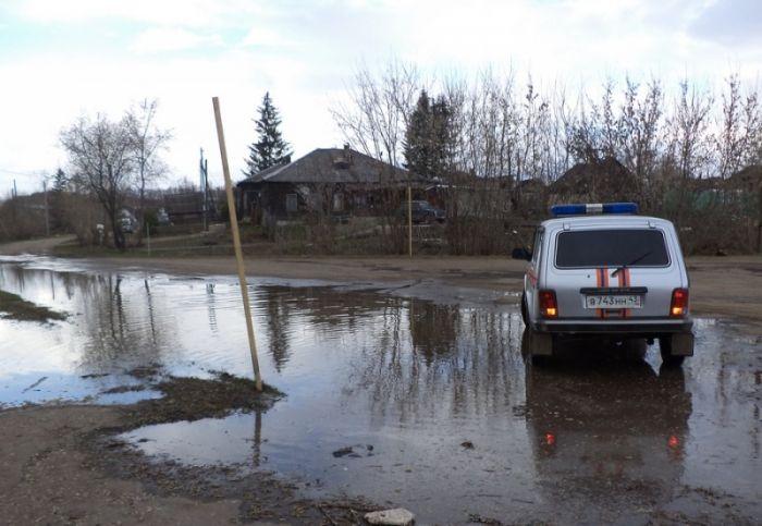 Вода в Вятке поднялась до 393 см