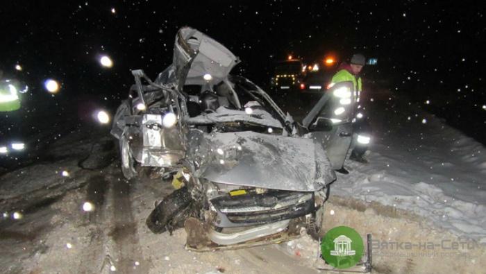 На трассе «Вятка» в Юрьянском районе произошло смертельное ДТП
