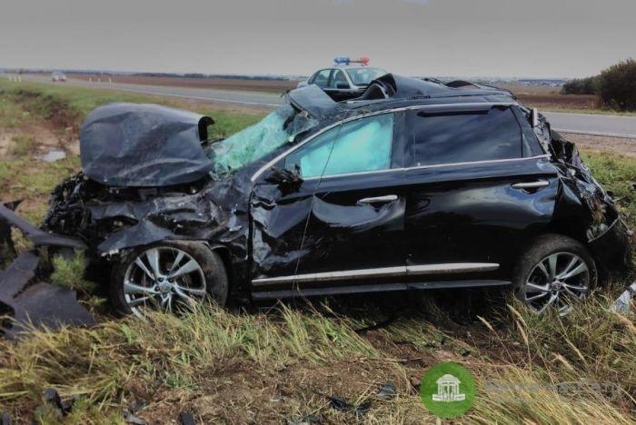 В Малмыжском районе в ДТП погибла 66-летняя пассажирка