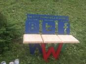 Студенты подарили городу авторские скамейки