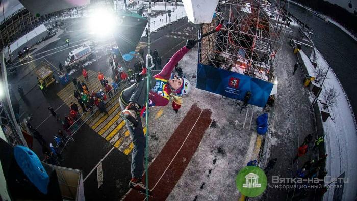 На чемпионате мира по ледолазанию в Москве кировчанки заняли весь пьедестал