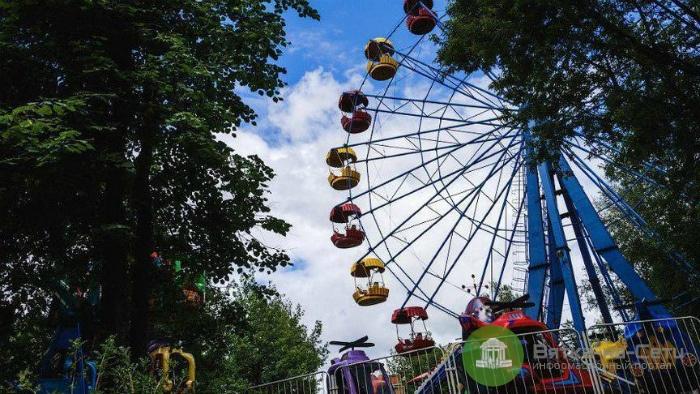 Колесо обозрения в парке у Цирка должны были списать еще в 1996 году
