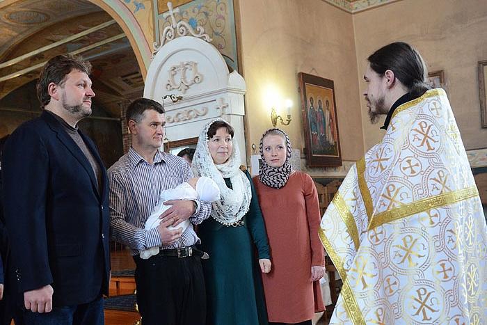 Никита Белых стал крестным отцом