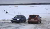 В области открыли ледовые переправы