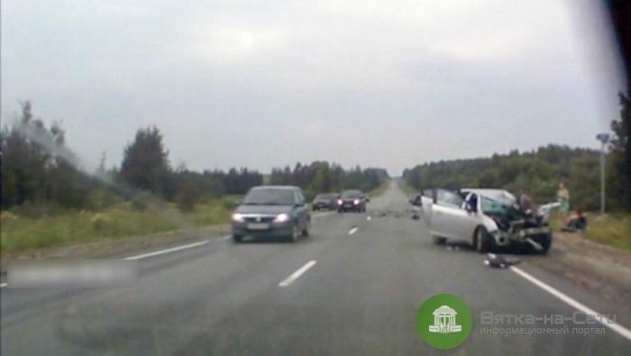 В Кировской области произошло смертельное ДТП