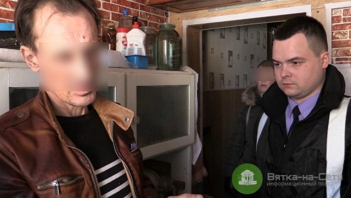 Кировчанин зарезал своих родителей и украл из их квартиры телевизор