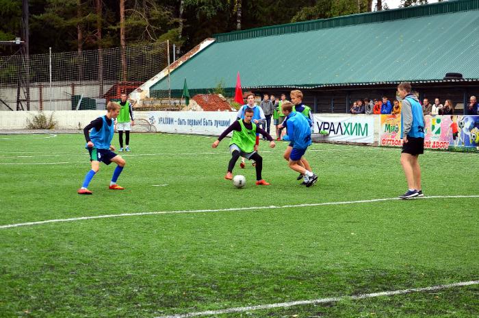 Завершился городской турнир по футболу среди дворовых команд