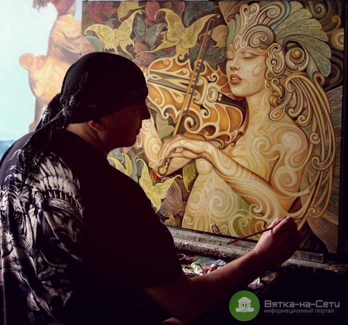 Сюрреалист из Кирова попал в десятку лучших художников США