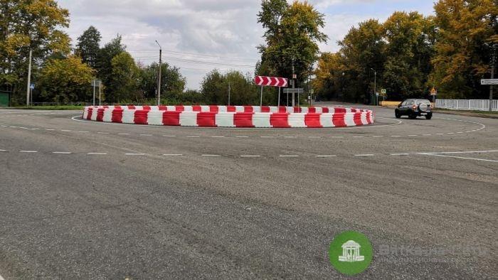 Перекресток на Слободском тракте реконструируют