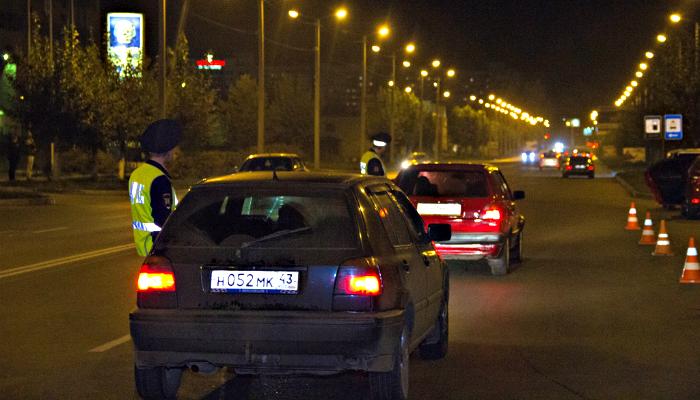За прошедшие три дня задержаны 23 нетрезвых водителя