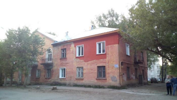 Дом на ул. МОПРа, пострадавший от падения крана, отремонтировали