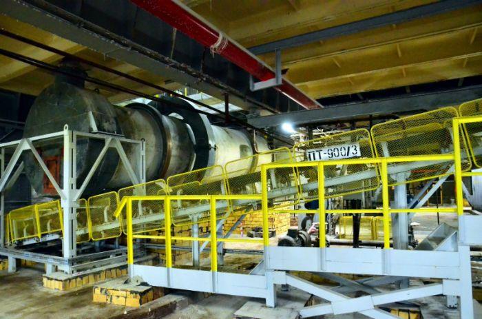 Производство сложных минеральных удобрений филиала «КЧХК» модернизируется