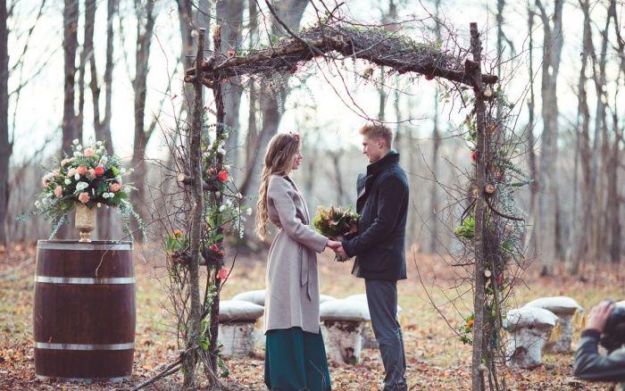 Когда мечты сбываются: красивая свадьба в романтичном стиле рустикс