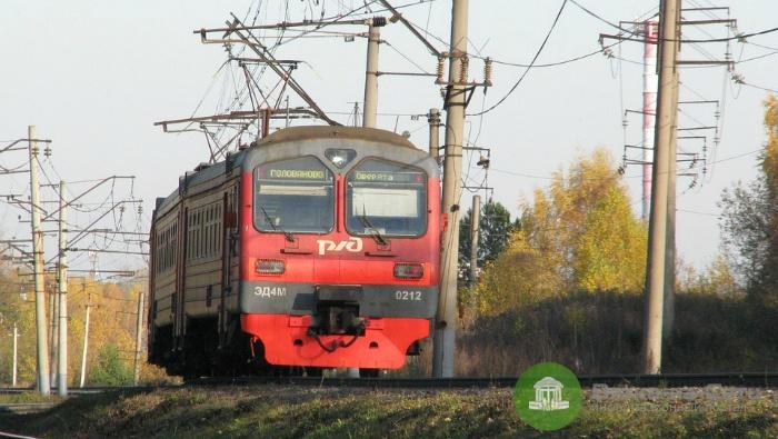 Проезд в электричке на участке Киров – Поздино будет стоит 22 рубля