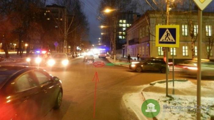 Вчера на перекрестке улиц Орловской и Казанской сбили двух 7-летних девочек
