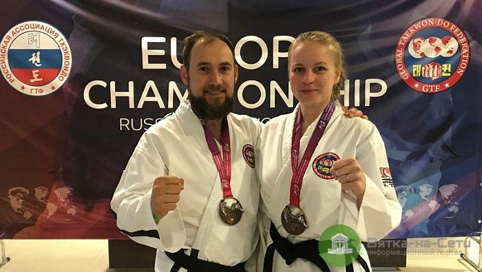 Кировчане завоевали 12 медалей на чемпионате и первенстве Европы по тхэквондо
