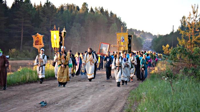 В Великорецкий крестный ход отправятся несколько десятков тысяч верующих