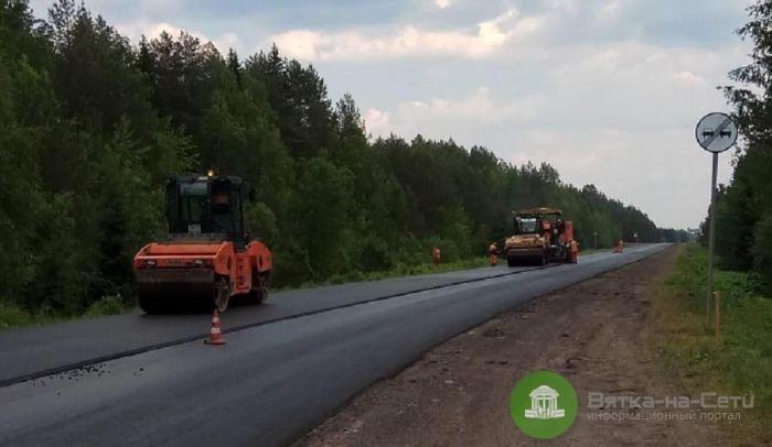 В Кировской области строят дорогу Опарино – Альмеж