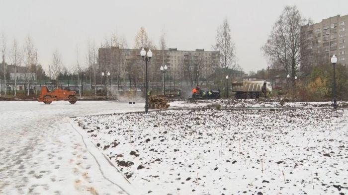 Качество асфальтирования в Кочуровском парке оценит экспертиза
