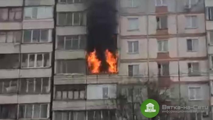 Стали известны подробности пожара на улице Строителей