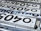 В Котельниче задержаны похитители автомобильных номеров