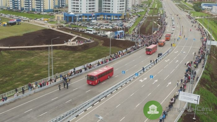 В Кирове открыли путепровод в Чистые пруды