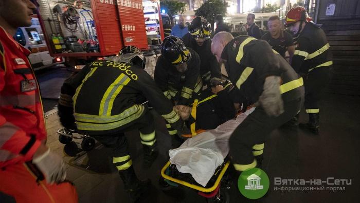 СМИ: При обрушении эскалатора в Риме пострадали трое кировчан (видео)