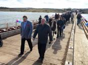 В Кирово-Чепецке появился понтонный мост
