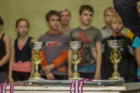 Сборная 54-ой школы выиграла «Серебряную штурмовку»