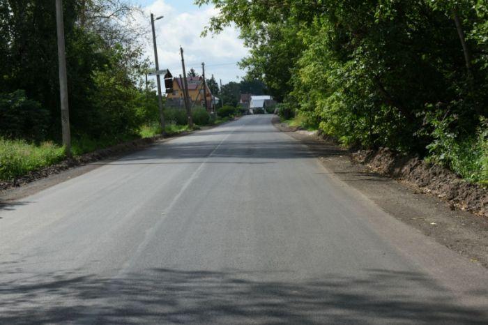 Автодорога в Малой Субботихе сдана с опережением срока