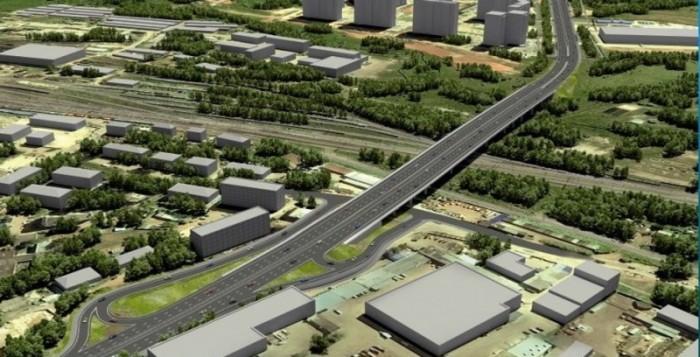 В июне на строительство путепровода в Кирове поступило свыше 100 млн рублей