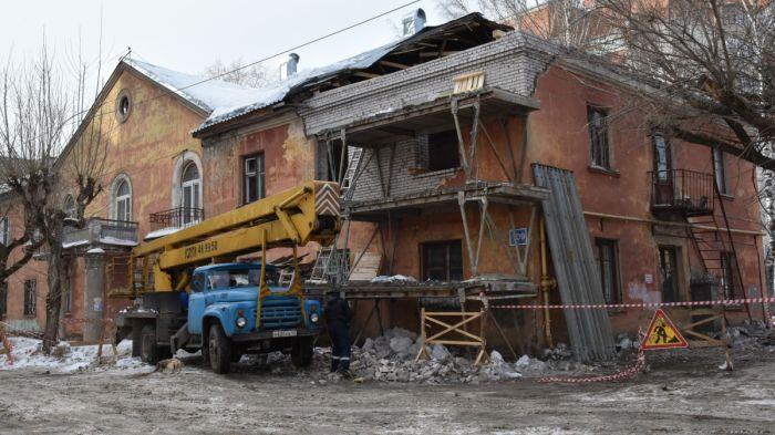 Дом на МОПРа, 109 начали восстанавливать