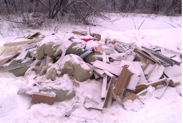 В Кирове ликвидирована еще одна несанкционированная свалка