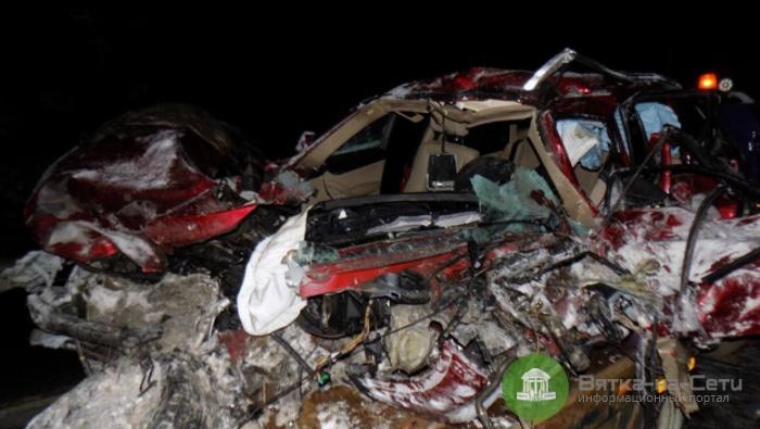 В ДТП на трассе «Вятка» погиб водитель иномарки