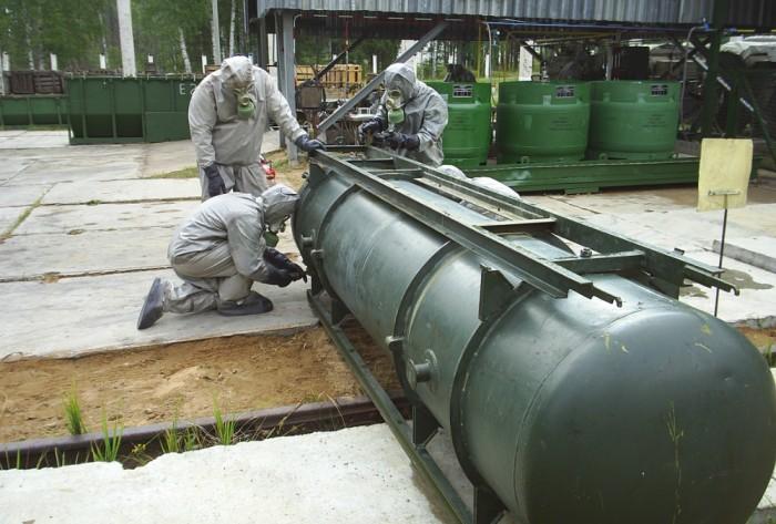 В Кировской области уничтожили всё химическое оружие