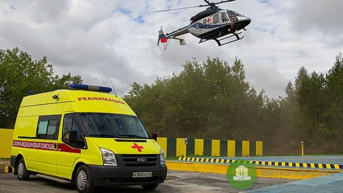 Вертолетами санитарной авиации в 2018 году выполнено 415 вылетов