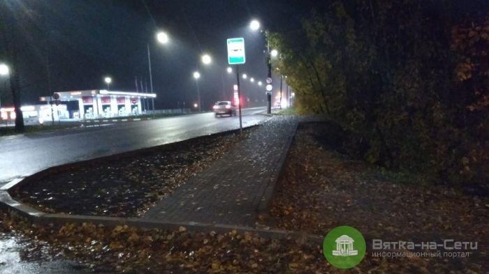 В Новом Сергеево появились автобусные остановки