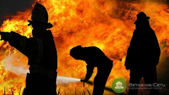 При пожаре в Малмыжском районе погиб пенсионер