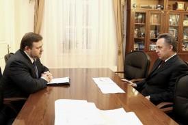 Никита Белых встретился с Виталием Мутко