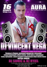 "Dj Vincent Vega in ""AURA"""