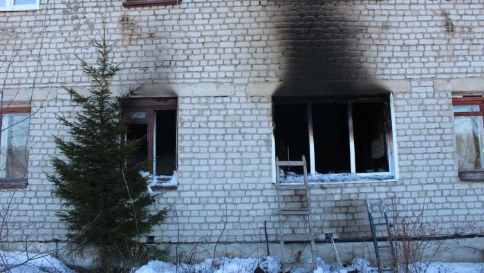 В Котельничском районе в пожаре погибли три человека