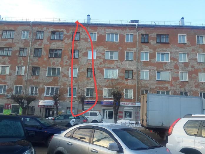 В Кирове дом треснул от первого до пятого этажа