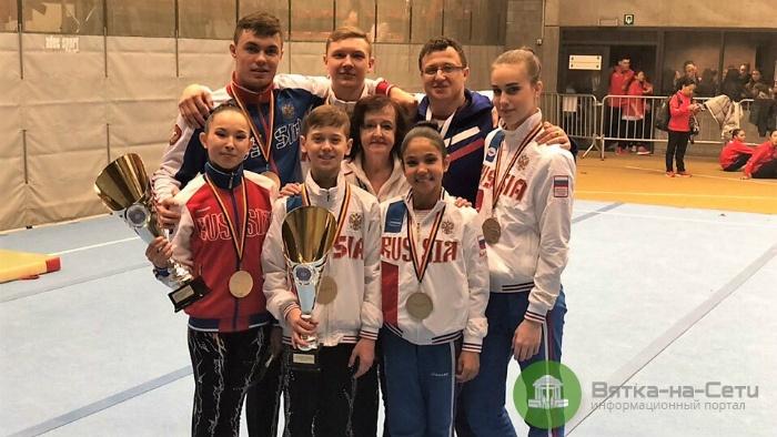 Кировские акробаты завоевали Кубок мира