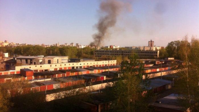 В одном из зданий КВАТУ вновь произошел пожар