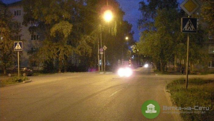 Кировский пенсионер сбил мужчину на пешеходном переходе