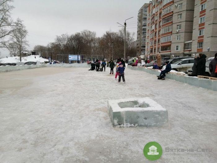 Кировчане жалуются на бесплатные городские катки