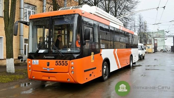 Поступивший в Киров новый троллейбус сломался через неделю эксплуатации