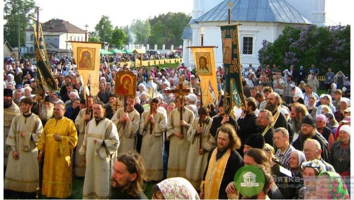 Стало известно расписание Великорецкого крестного хода в этом году
