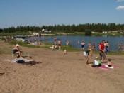 Кировчане могут купаться лишь у водозабора в Корчёмкино