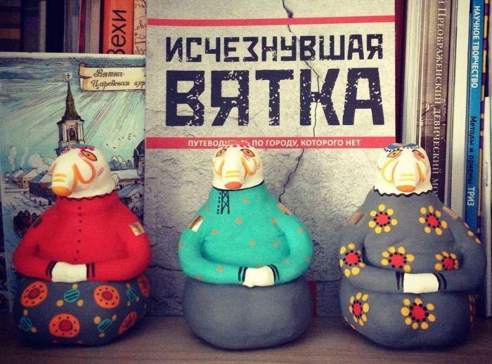 В Кирове появились вятские ждуны